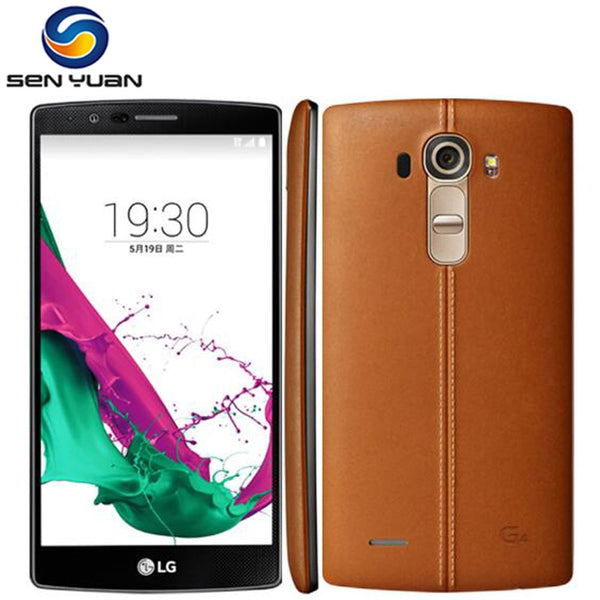 Unlocked Original LG G4 H815 H810  Quad core 32GB ROM 16.0 MP Camera 5.5'' 1440 x 2560 pixels 4G LTE Moblie phone