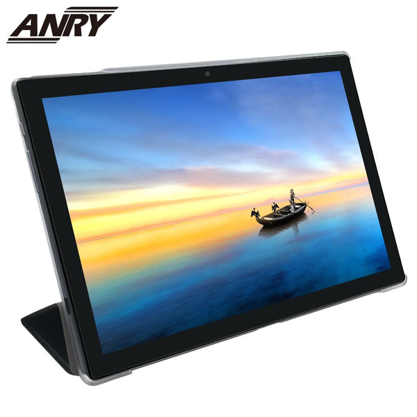 ANRY 5G Wifi Tablet Android Octa Core Type-C Full Charged 2hrs 3G+32G Android 8.0 Dual Wifi 4G Phone Call 10 Inch Tablet Pc