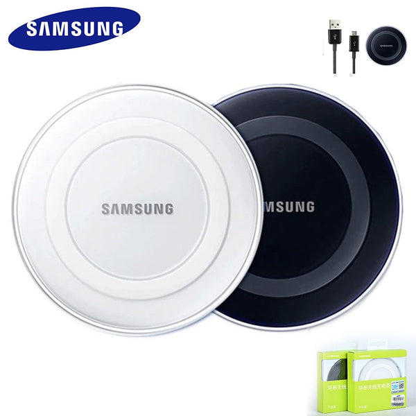 Original Samsung Wireless Charger Adapter qi Charge Pad For Galaxy S7 S6 EDGE S8 S9 S10 Plus Note 4 5 For Iphone 8 X XS XR mi 9