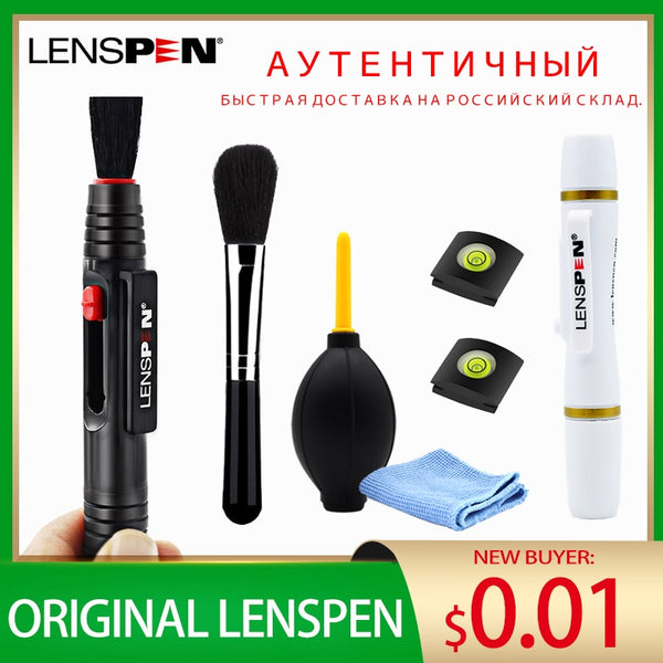 LENSPEN Camera Cleaning Kit Suit LENS PEN Dust Cleaner Brush Air Blower Wipes Clean Cloth kit for Gopro Canon Nikon DSLR DVR PEN