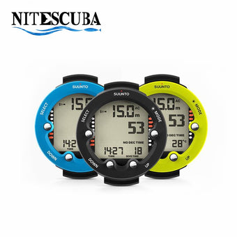 NiteScuba underwater photography accessory SUUNTO ZOOP NOVO Diving Computer watch waterproof men women dive recreational divers (Blue)