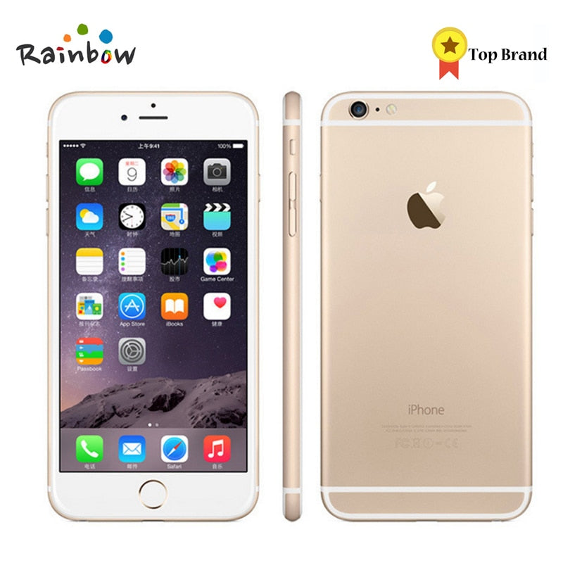 Original Apple iPhone 6 Factory Unlocked IOS Smartphones 4.7 inch Touch Sreen Dual Core LTE WIFI Bluetooth 8.0MP Camera