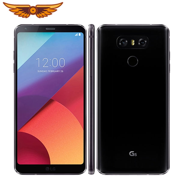 Original LG G6 H871/H872/VS988 Snapdragon 821 Dual Rear Camera 5.7 Inches 4GB RAM 32GB ROM 13.0MP LTE 4G Refurbished Cellphone
