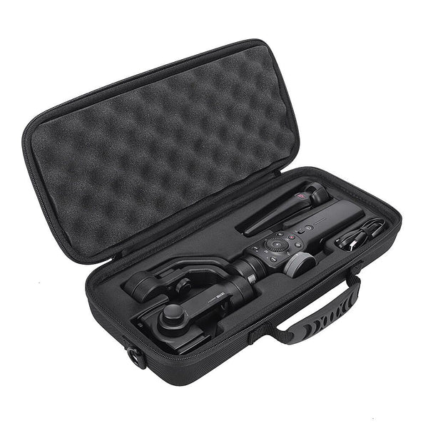 2020  Newest PU Hard Box Travel Carrying Storage Case For Zhiyun Smooth 4 Handheld Gimbal Stabilizer-Extra Room For Accessories