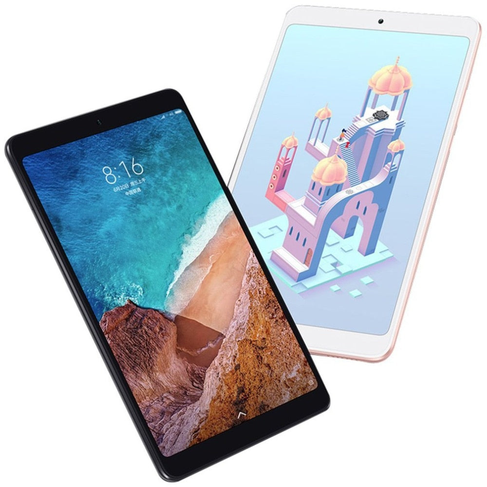 CN version Multi-language Xiaomi Mi Pad 4 Plus 128GB Tablets 4 Snapdragon 660 AIE 8620mAh 10.1'' 16:10 1920x1200 Screen 13MP