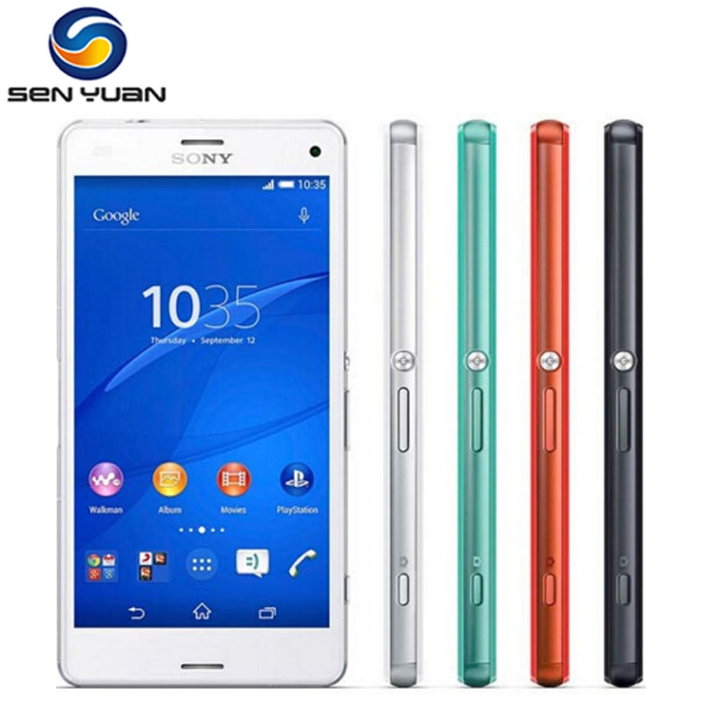 Original Sony Xperia Z3 Compact D5803 Unlocked 4G LTE Z3 mini Android Smartphone Quad-Core 4.6 inch 16GB WIFI GPS Mobile phone