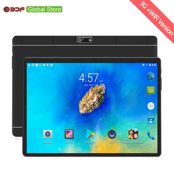 Ruissian Warehouse Ships 10 Inch Android 7.0 Tablet Pc 1GB RAM+32GB ROM Mobile Phone Call  WiFi FM IPS LCD Tablets Pc