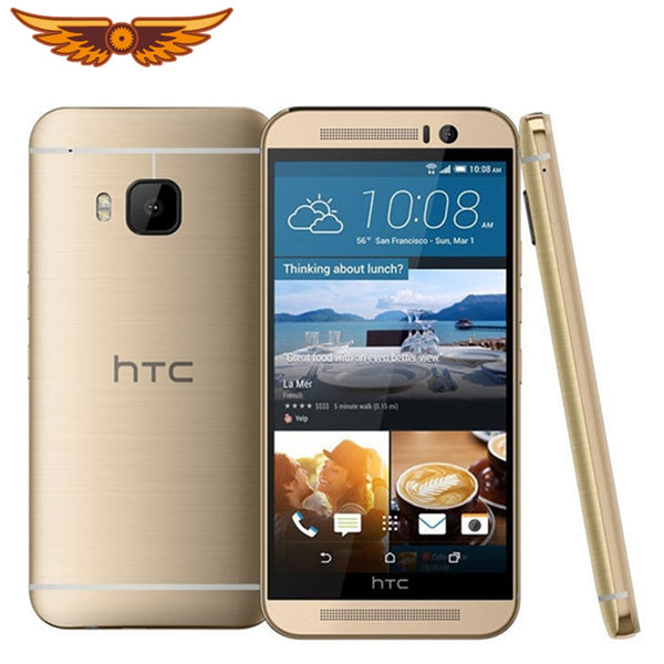 Original HTC One M9 4G LTE Mobile Phones HTC M9 Octa-core 32GB ROM 3GB RAM 20MP Camera WIFI NFC GPS Unlocked Smartphone