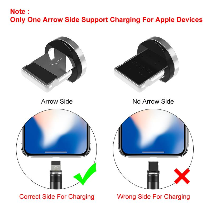 FLOVEME Magnetic Cable Charger Micro USB Type C Cable 2A Fast Charging Charge USBC/Type-C Wire For iPhone Samsung Cable