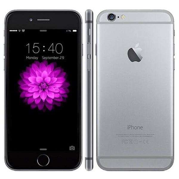 Original Unlocked Apple iPhone 6 Cell Phones 4.7'' inch IPS 1GB RAM 16/64/128GB ROM GSM WCDMA LTE iPhone6 Used Mobile Phone