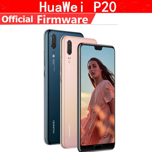 Original HuaWei P20 4G LTE Mobile Phone Kirin 970 Android 8.1 5.8