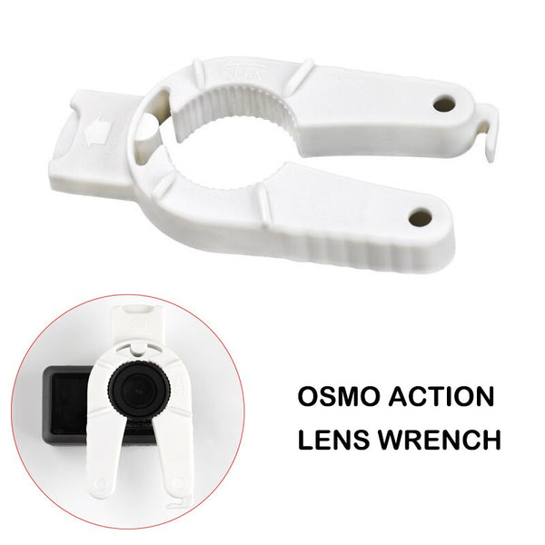 DJI Osmo Action Camera Lens Filter Remover Wrench Filter Installation Tightening Disassembly Tool DJI OSMO ACTION Accessories (White Color)