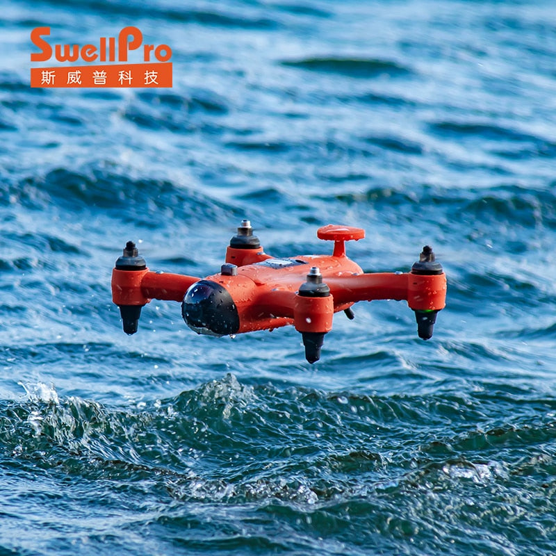 SwellPro Spry Drone Waterproof Underwater Drone with 4K Camera portable drone