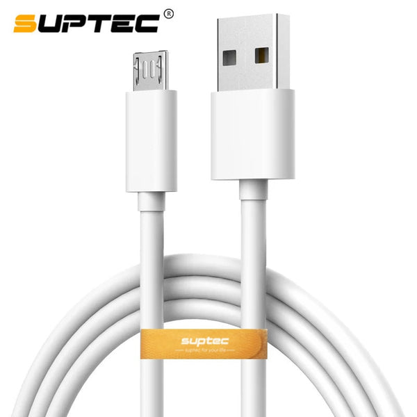 SUPTEC Micro USB Cable 2A Fast Charger USB Data Cable Mobile Phone Charging Cable for Samsung Xiaomi Huawei 0.25m/1m/1.5m/2m/3m