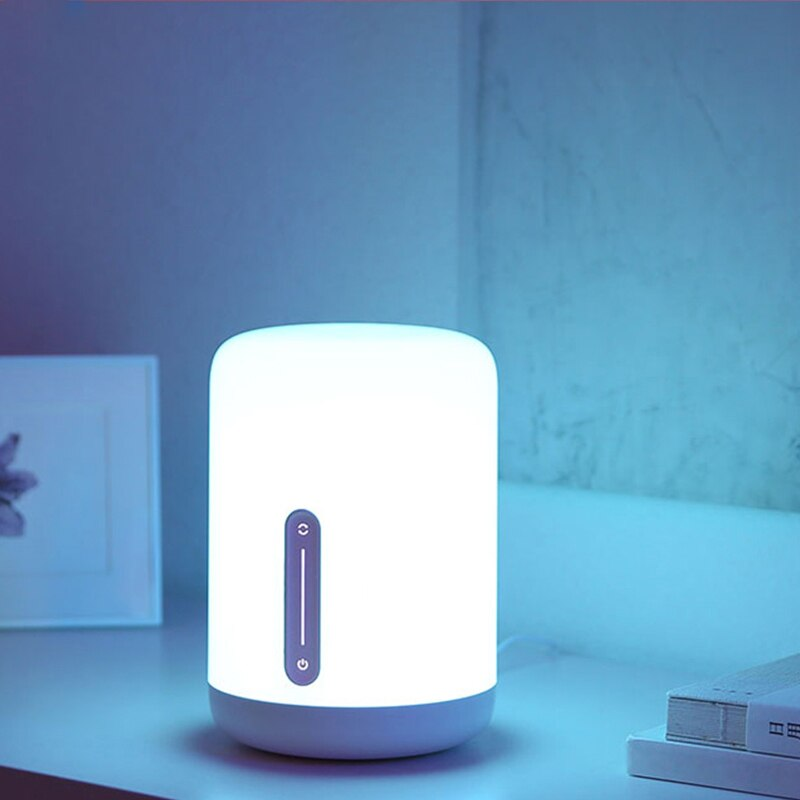 New Arrival Original Xiaomi Mijia Bedside Lamp 2 Bluetooth WiFi Connection Touch Panel APP Control Works with Apple HomeKit Siri