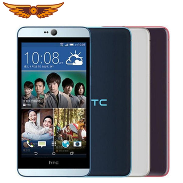 HTC Desire 826 Original Unlocked Quad Core 5.5 Inch 2GB RAM+16GB ROM 13MP Camera 1080P GPS WIFI Dual SIM Cards Mobile Phone