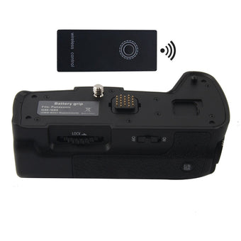 DMW-BGG1 Battery Grip + 2.4G Wireless Remote Control for Panasonic Lumix DMC-G85 DMC-G80 G85 G80 Camera DMW-BLC12 BLC12.