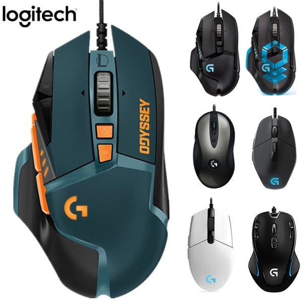 Logitech G102 Gaming Mouse G502 Hero (LOL) Limited Edition MX518 Classic G402 G300s G302 G403 wired Mouse Support Desktop/Laptop
