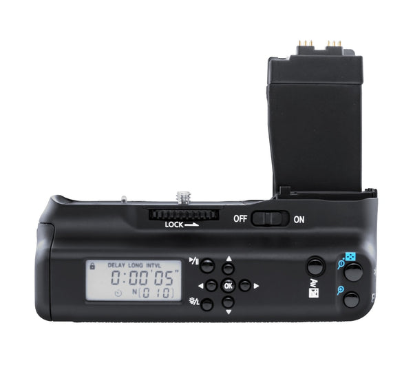 MeiKe MK-550D MK 550D LCD MK-550DL Battery Grip Timer Battery Grip Holder For Canon 550D 600D 650D 700D / Rebel T2i T3i T4i T5i