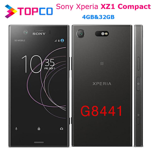 Sony Xperia XZ1 Compact G8441 Original Unlocked 4G Android Mobile Phone Octa Core 4.6