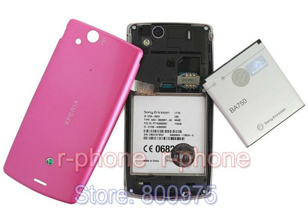 "100% Original Sony Ericsson Xperia Arc S LT18i Mobile Phone Unlocked 3G WIFI 4.2"" TouchScreen 8MP Android Smartphone"