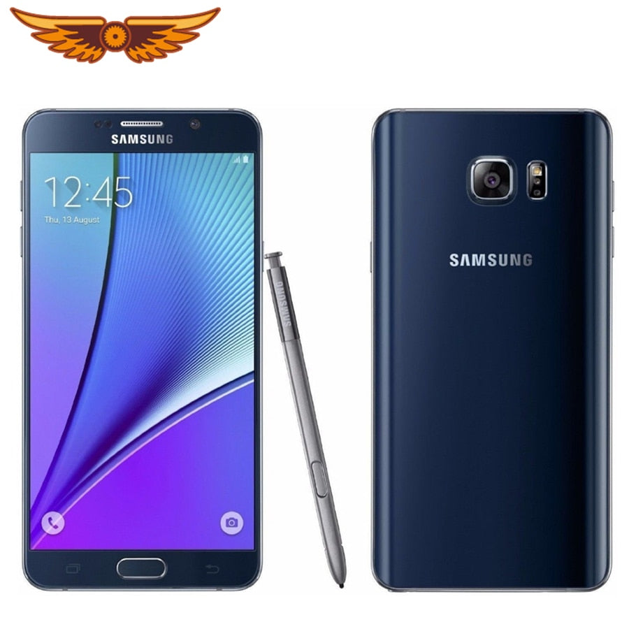 Original Unlocked Samsung Galaxy Note 5 N920A/C Octa Core 5.7Inch 4GB RAM 32GB ROM 16.0MP LTE 4G Android Smartphone MobilePhone