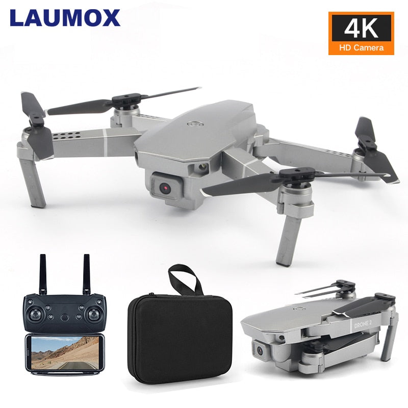 LAUMOX M72 Drone HD 4K WIFI FPV Drones video live Recording Quadcopter Optical Flow Drone Camera Mini Toys VS E68 SG107 E58