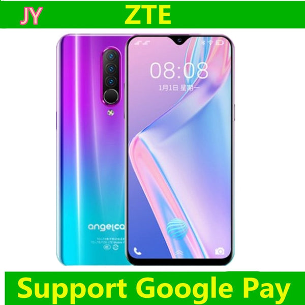ZTE F6S genuine super thin water drop full screen android large screen game 4g all Netcom Smart Phone face recognition 3200 ma