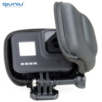 QIUNIU For GoPro Hero 8 Black Mini Compact Camera Storage Case Portable Protective Box Bag for Go Pro 8 Case Accessories