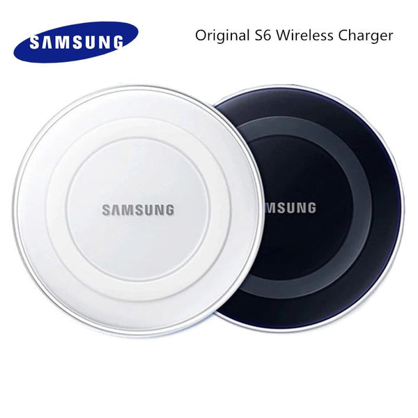 Samsung Galaxy S6 Qi Wireless Charger Adapter Charge Pad 5V/2A For S7 Edge S10e S10 S9 S8 Plus Note 5 8 9 iphone 8 plus X XS mi9