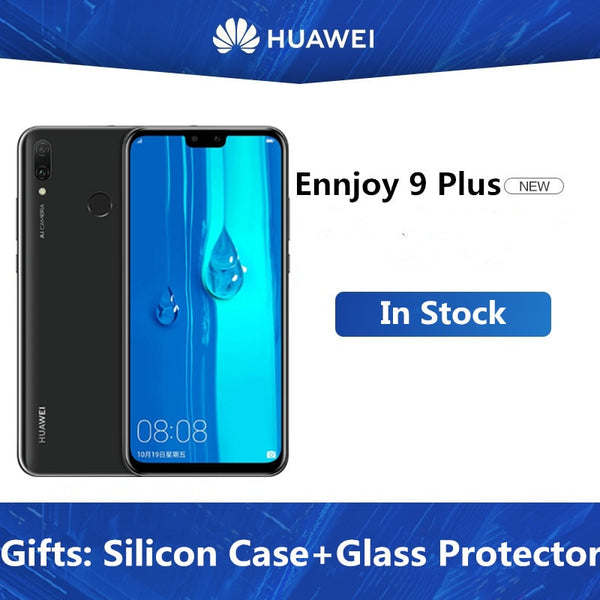 DHL Fast Delivery HuaWei Y9 2019 Enjoy 9 Plus 4G LTE Cell Phone Android 8.1 6.5