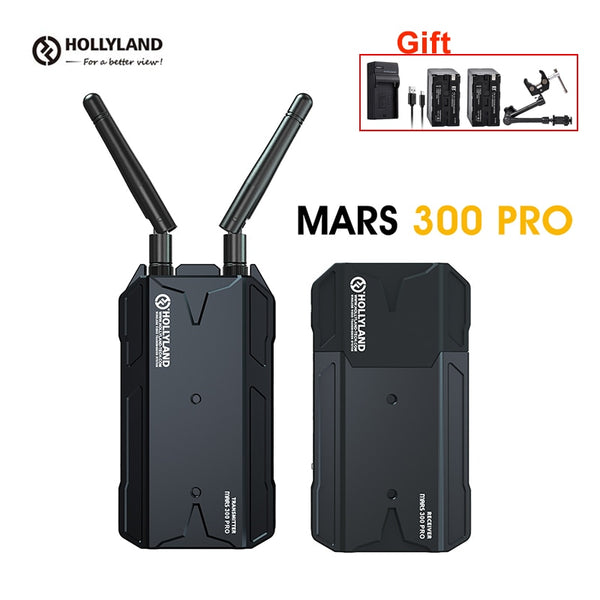 Hollyland Mars 300 PRO HD Video Image Wireless Transmission MAR S Enhanced Transmitter Receiver HDMI 1080P for DSLR Camera Phone