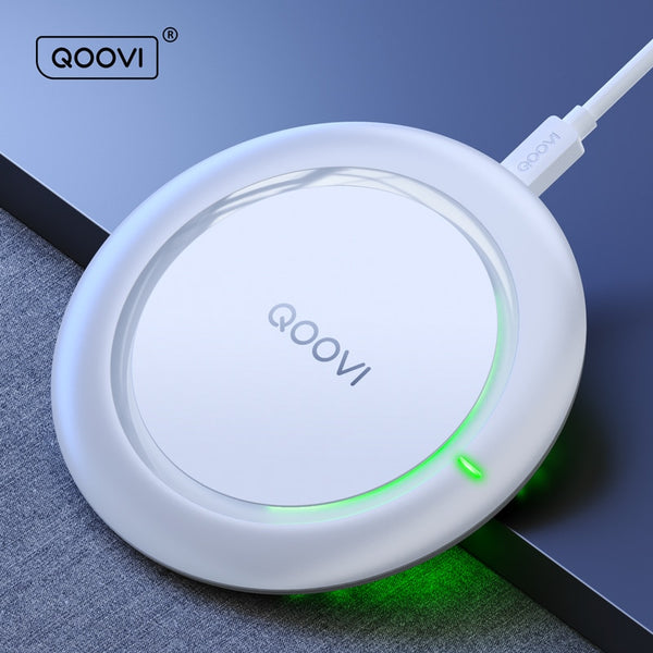 10W Fast Wireless Charger For Samsung Galaxy S20 S10 S9 S8 Note 10 9 8 USB Qi Charging Pad For iPhone 11 Pro Xs Max Xr X 8 Plus
