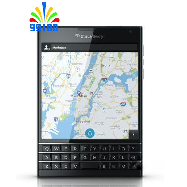 Unlocked Cell Phone Blackberry Passport Q30 4.5inch screen 2G/3G/4G-LTE network 3GB+32GB Quad Core refurbished phone