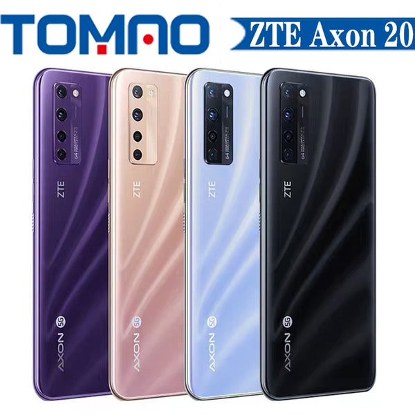 ZTE Axon 20 5G mobile phone Snapdragon 765G Octa Core  6GB 8GB RAM 128GB 256GB ROM 6.92 inch big screen 2460X1080 5G Cellphone