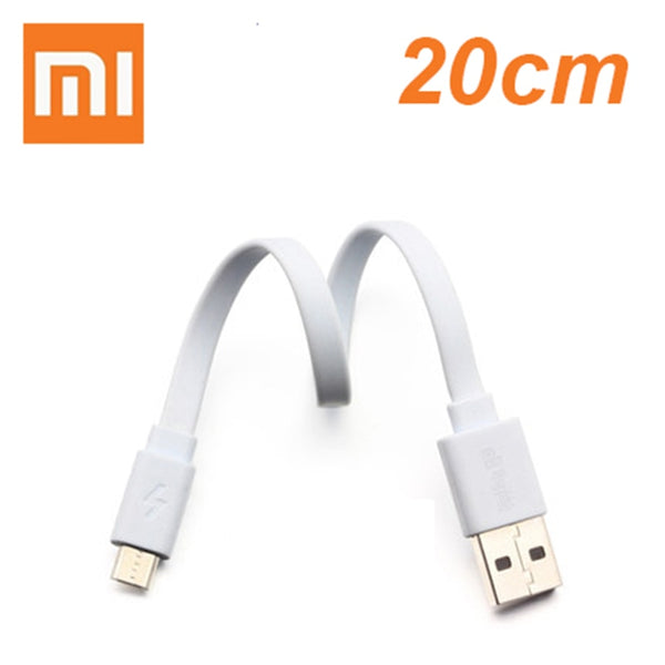 Original xiaomi powerbank cable 20CM Micro USB Fast Charging Data Cable For Powerbank Cable short cable for phone huawei Samsung