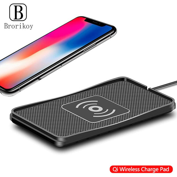 10W Qi Wireless Car Phone Charger Fast Charging pad mat For iPhone11Pro XR Max Samsung S9 Xiaomi Huawei Smartphone Charger