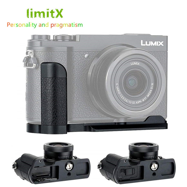 Hand Grip Quick Release Plate L Bracket Tripod Holder For Panasonic GX9 GX7 Mark II III GX7M3 GX7M2 GX85 GX80 Replace DMW-HGR2