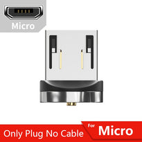 Essager 540 Rotate Magnetic Cable Fast Charging Magnet Charger Micro USB Type C Cable Mobile Phone Wire Cord For iPhone Xiaomi