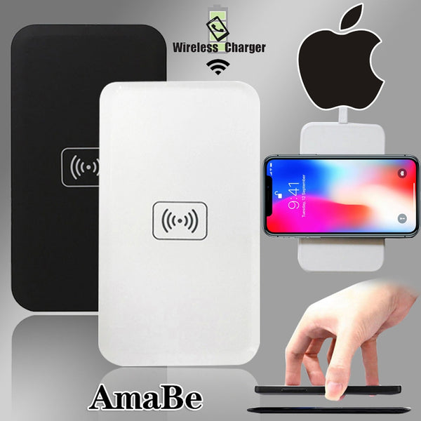 For Iphone 8/8 Plus/X/XS/XR/XS Max/ Iphone 11 / 11 Pro / 11 Pro Max QI Quick Wireless Charger USB Fast Charging Pad Dock
