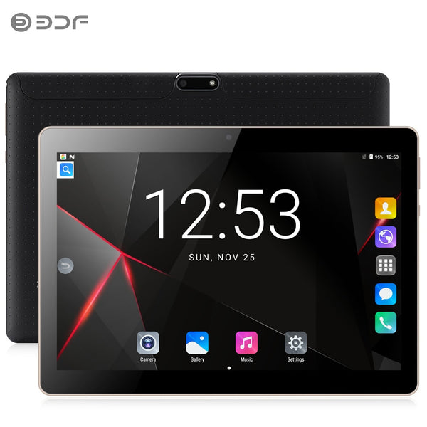 BDF New 10 inch Original Tablet Pc Android 7.0 Dual SIM cards Quad Core BDF Brand WiFi FM New 3G Phone Call laptop 10.1 Tablets