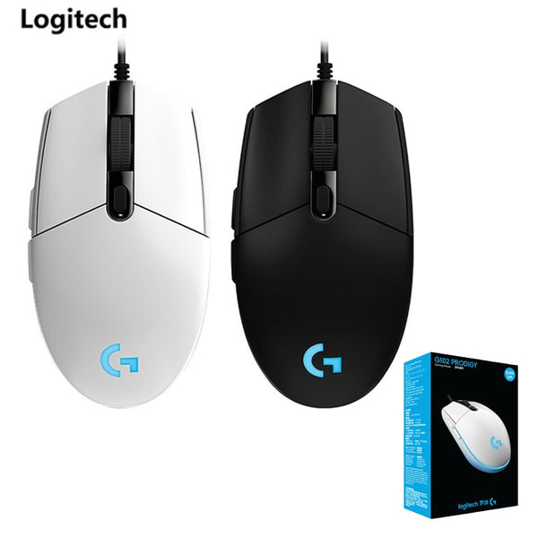 Original Logitech G102 Second Generation 8000 DPI Mechanical Gaming Wired Mouse Game Macro Desktop Computer Home Gaming Mouse