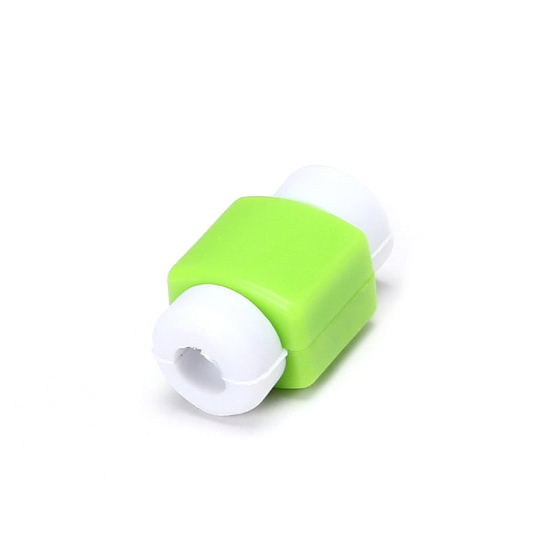 1 pcs Mini Cute Data Cable Protector Winder Cord Protection Wire Cover for iphone for Xiaomi USB Cable accessory bundles