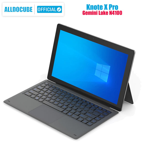 ALLDOCUBE Knote X Pro 13.3 Inch  2 IN 1 Tablet 2560*1440 IPS Windows Gemini Lake N4100 8GB RAM 128GB ROM TYPE-C USB 3.0