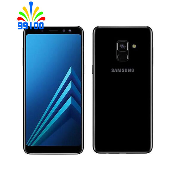 Original Samsung Galaxy A8 2018 A530F 5.6inch 4GB+32GB single/dual sim octa core 16.0MP 4G-LTE Unlocked Cell Phones Fingerprint