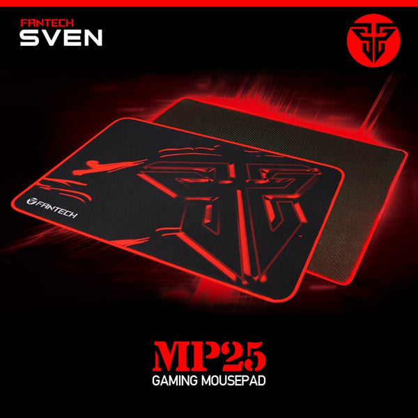 45# Mouses Pad For Fantech MP25 PRO GAMING Mouse Mat Pad Gamer Anti-slip Cloth Gaming for Laptop PC for LOL Game (Black)