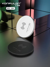 Wireless Charger For Mobile Phone Wireless USB Charging Device For Phone Mini Wirelss Phone fast Charger For phone Q06