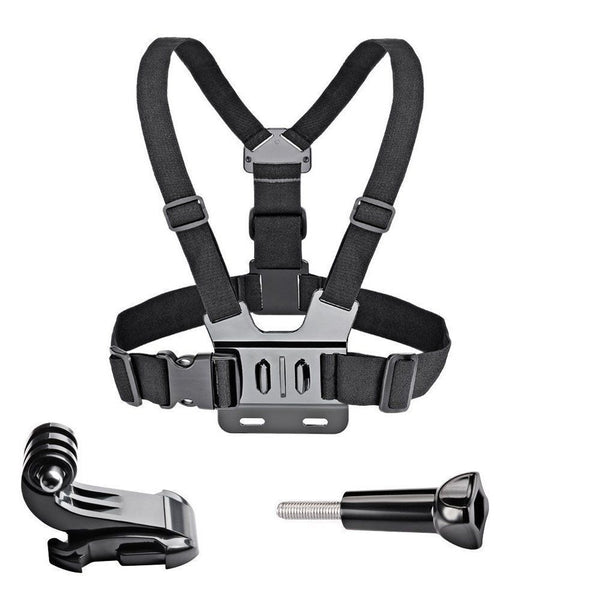 Chest Strap mount belt for  hero 7 6 5  yi 4K Action camera Chest Mount  for   SJ4000 sport cam fix
