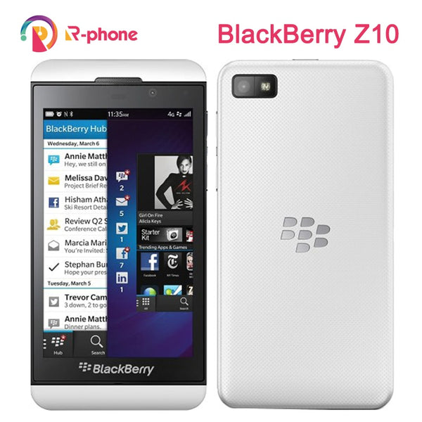 Refurbished Original Unlocked Blackberry Z10 Dual core GPS WiFi 8MP 4.2