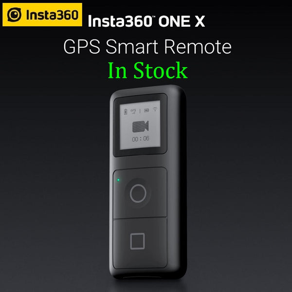 Insta360 ONE X / ONE R GPS Smart Remote Control for Action Camera VR 360 Panoramic Camera